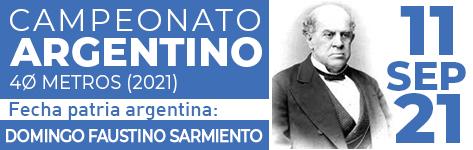 CAMPEONATO ARGENTINO 40 METROS (2021) (CA40m 2021)