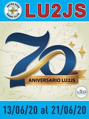 """70º Aniversario de LU2JS"""