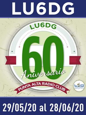 (LU6DG) 60º Aniversario Punta Alta Radio Club