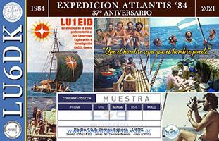 (LU6DK) 37 Años Expedición Atlantis