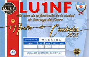 (LU1NF) 468 años de Santiago del Estero, Madre de Ciudades